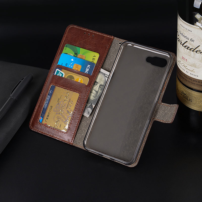 US $5 0  For BlackBerry KEY2 Case 4 5 inch Luxury Leather Wallet Protector  Case For BlackBerry KEY3 LE Magnetic Cover With Photo Frame-in Wallet Cases