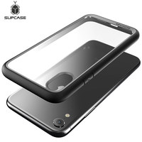 SUPCASE-funda híbrida Premium para iphone XR de 6,1 pulgadas, carcasa transparente delgada para teléfono iphone Xr 2018