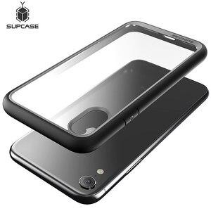 Image 1 - Supcase para o iphone xr caso capa 6.1 polegada ub estilo premium híbrido proteção magro claro caso de telefone para iphone xr 2018