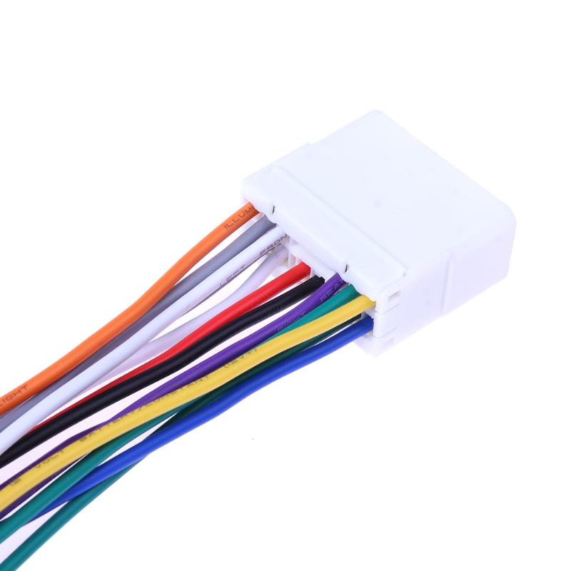 14 pin wire harness wiring diagram1pcs stereo cd player radio wiring harness 14pin wire adapter plug 14 pin wire harness find