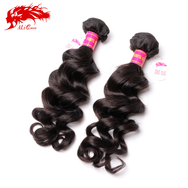 Ali queen hair products hair 100% human hair weave 8-34inch unprocessed brazilian more wave natural hair extension