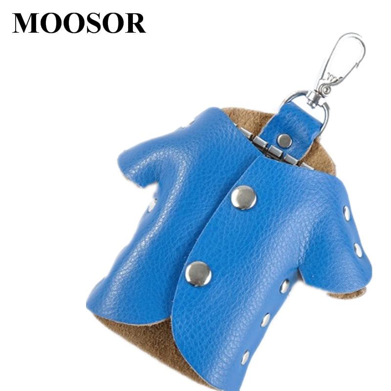 criativo adorável chave sólida carteiras Composição : Genuine Leather