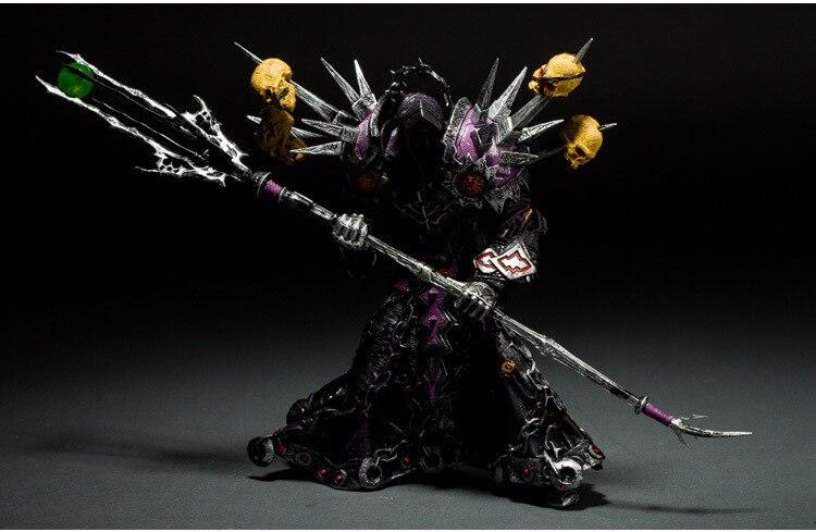 Wow Action Figure DC Illimité Série 1 7.5 pouce Undead Warlock [Meryl Felstorm] WOW Warlock PVC Jouet Chiffre livraison gratuite GS012