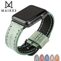New Grey Genuine Leather Watchband Watch Accessories Bracelet Wristband For Iwatch Apple Watch Strap 38mm Apple