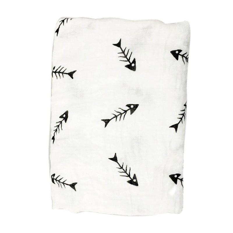 Kids Cotton Swaddle Wrap Muslin Newborns Soft Blanket Swaddling Infant Sleepsack Sleeping Bag Swaddle Bedding