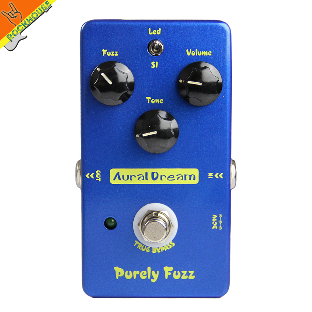ФОТО 2016 NEW Classic fuzz guitar effect pedal FUZZ stompbox 2 modes reproduce 60's MKIV MK2 true bypass free shipping