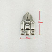 Wholesale Vintage Lock Antique Iron Jewelry Chest Gift Box Suitcase Case Buckles Toggle Hasp Latch Catch Clasp,56*40mm,50Sets