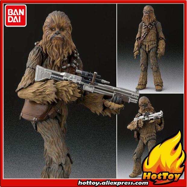 100% Original BANDAI Tamashii Nations S.H.Figuarts SHF Action Figure - Chewbacca (SOLO) from