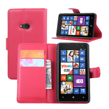 Vintage 625 Wallet PU Leather Cover Case for Nokia Mircosoft Lumia 625 Flip Stand Style Phone Bag with Retro Card Slots Holder