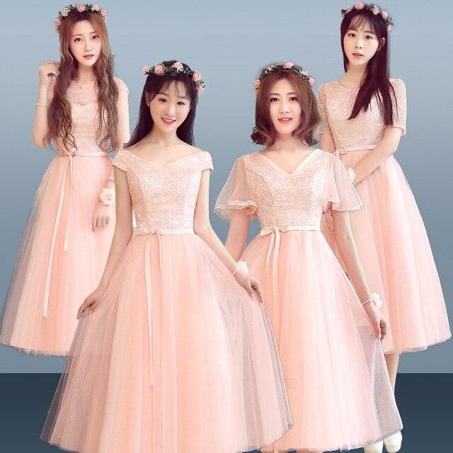 NEW Lady Lace Sexy Qipao Long Elegant Formal Party Cheongsam Pink Novelty  Chinese Wedding Bridesmaid Dress Oversize XXXL 77cd62ef5282