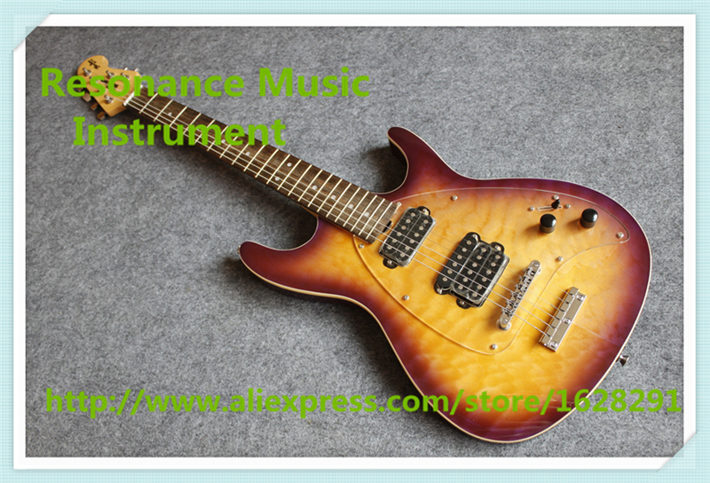 Hot Selling Qulited Finish Musicman SM-Y2D Electric Guitars Steve Mouse Signature China Guitars For Sale hot selling china quilted finish musicman ax 40 electric guitar with chrome floyd rose tremolo for sale