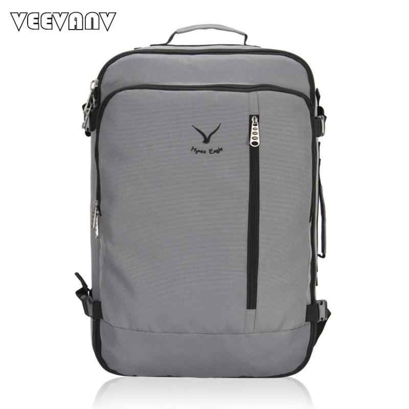 VEEVANV Men Backpack Travel Large Luggage for A Business Trip Cloth Shoulder Bag Fashion Laptop School Backpack Fashion Rucksack