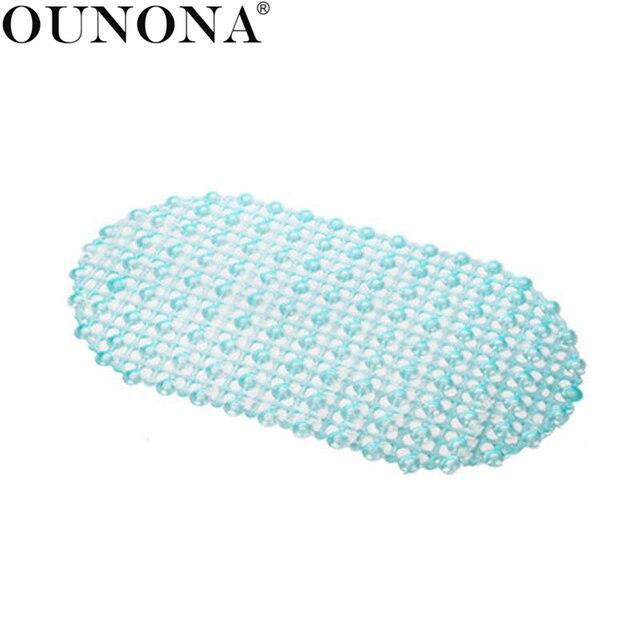 37x67 cm Tappetino Da Bagno Doccia Stuoia di Massaggio Del Piede Per Wc Tappetin