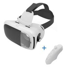 Vr коробка виртуальной реальности очки/Очки 3D гарнитура VR коробка 2.0 Google cardboard 3D Очки для смартфонов с Беспроводной контроллер