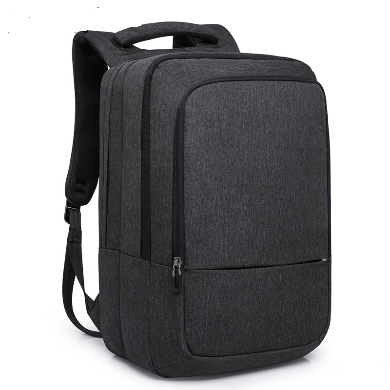 17009 New Fashion Men's Leisure Bag Man Backpack With USB Interface Simple Student Bag Computer Backpack