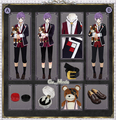 DIABOLIK LOVERS MORE,BLOOD Sakamaki Kanato cosplay costume