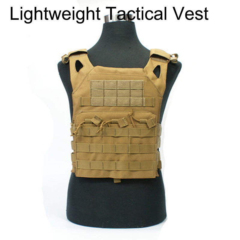 REEBOW TACTICAL Vest Body Armor Jumper Plate Carrier Camouflage Molle Hunting Paintball Military