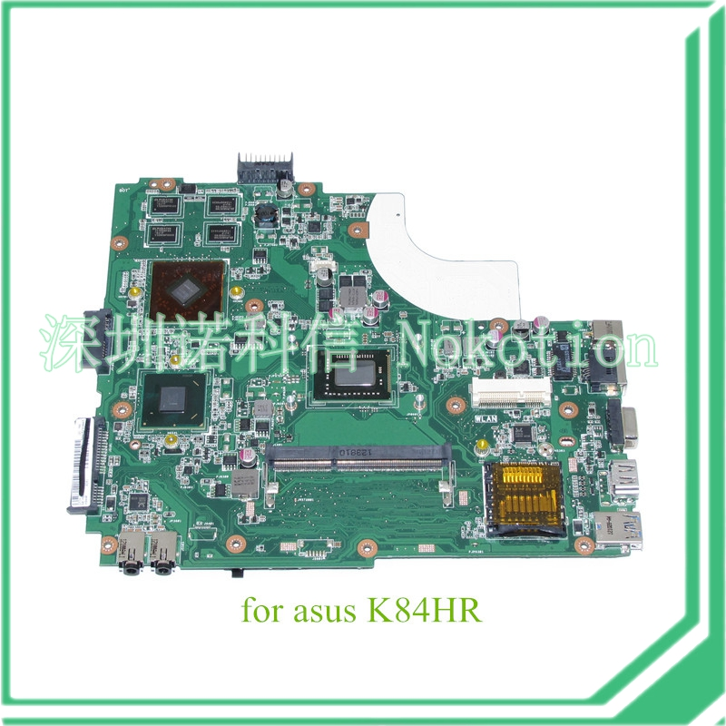 ФОТО For asus K43LY mainboard K84HR Motherboard REV 5.0 HM65 DDR3 ATI  HD 6470M Graphics I3-2350M SR0DQ