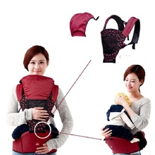 Baby carriers Cotton Removable Adjustable Baby Carrier 3 in 1 Breathable Baby Chair Portable Kid Carriage