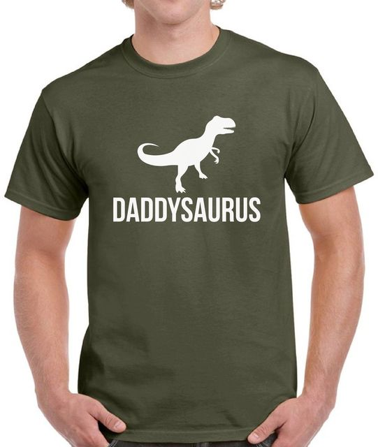 6686183e6 Daddysaurus Shirt Top Daddy Gifts Rex Dinosaur Birthday Gift for Dad Sale  100 % Cotton T Shirt TOP TEE