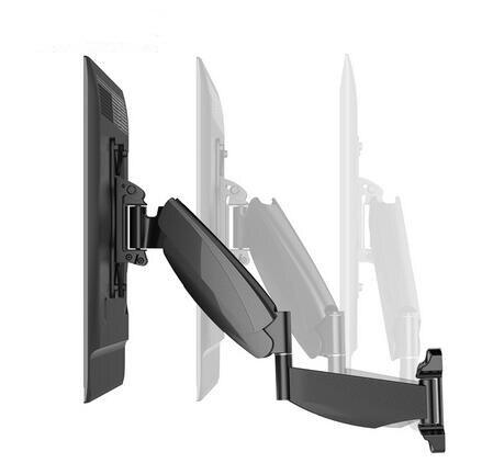 Loctek Move-S1 Gas Spring Full Motion 43-52 LCD LED TV Wall Mount Max. VESA 400*400mm Loading 13-21kgs