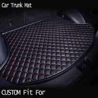 Car ACCESSORIES Custom Fit Car Trunk Mat For TOYOTA CAMRY REIZ 86 PRIUS CROWN COROLLA COROLLA
