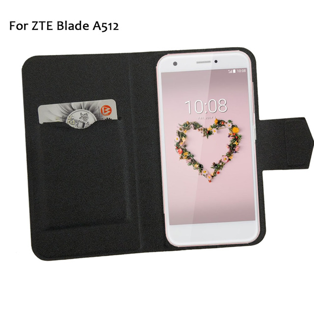 half off 1a4ac 81ade US $3.65 15% OFF|5 Colors Super! ZTE Blade A512 Phone Case Leather Full  Flip Phone Cover,2017 High Quality Fashion Luxurious Phone Accessories-in  Flip ...