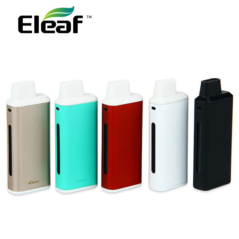 100% Original Eleaf iCare Starter Kit mit 650 mah Batterie und 1,8 mt Tank kapazität 1.0ohm 0.2-3.5ohm Spulenwiderstand
