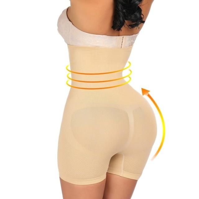 Lover Beauty Shapewear Workout Waist Trainer Corset Butt lifter Tummy Control Plus Size Booty Lift Pulling Underwear Shaper 2