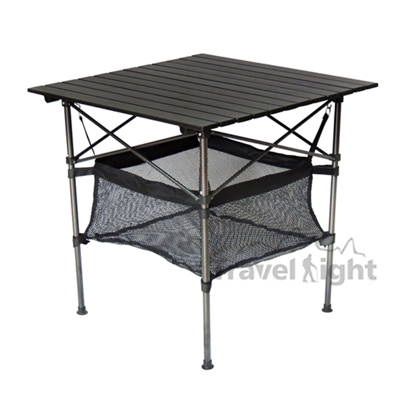 TravelLight lightly armed large aluminum table row casual outdoor ...