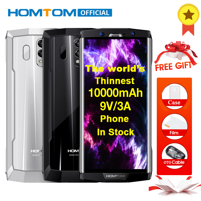 HOMTOM HT70 Octa Core Android 7,0 de 1000 mAh Smartphone 6,0 pulgadas pantalla 18:9 16MP + 5MP cámaras duales 4 GB RAM 64 GB ROM OTG teléfono móvil