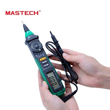 MasTech MS8211D перьевой цифровой мультиметр с автоматической настройкой диапазона Multitester Напряжение тока тестер уровня логики