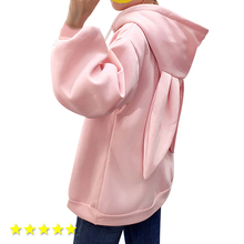 2019 Casual Sweatershirt Tracksuit Cute Oversized Loose Pullovers Moleton Hoodies Women Top Embroidery Hooded