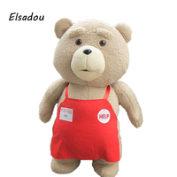 Elsadou 2017 Toys War Movie Teddy Bear Ted 2 Plush Toys Soft Stuffed Animals & Plush