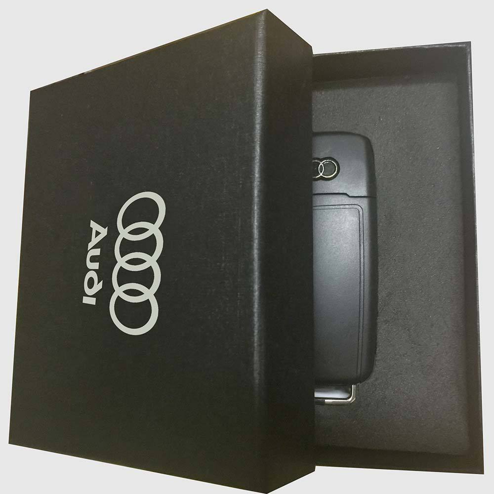 usb 2 0 pen drive car key usb stick for audi gift box usb. Black Bedroom Furniture Sets. Home Design Ideas