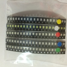 100pcs/lot 1206 light Package LED Package Red White Green Blue Yellow each 20pcs 3216 led