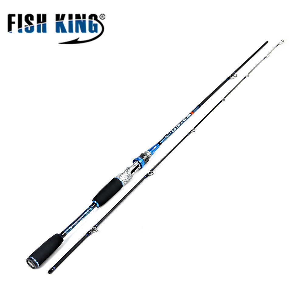FISH KING 99% Carbon H 1.8M 2.1M 2.4M spinner rod fishing lure rod and cast rod for