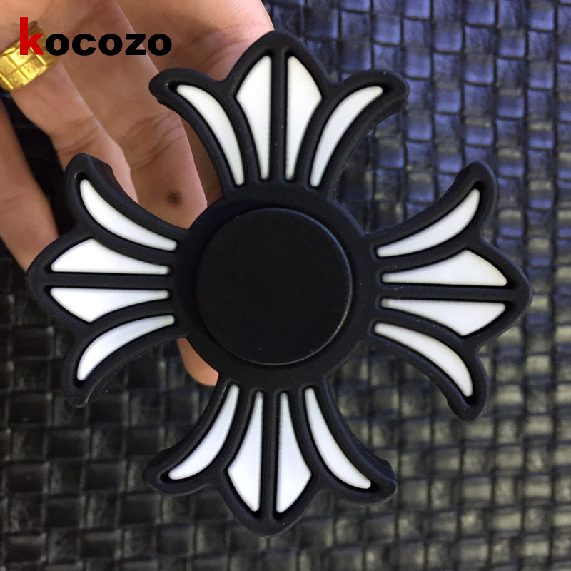 Silica Gel Fashion Hand Spinner Reduce Stress Fidget Toys Edc Hand Spinner Sensory Fidgets For Autism Adhd Funny Gifts Fidget Spinner Toys & Hobbies