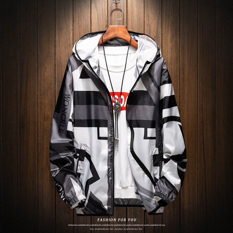 New 2019 Casual Men s Jackets Waterproof Spring Hooded Coats Men Outerwear Casual Jackets Brand Male New 2019 Casual Men's Jackets Waterproof Spring Hooded Coats Men Outerwear Casual Jackets Brand Male Clothing Plus Size 4XL