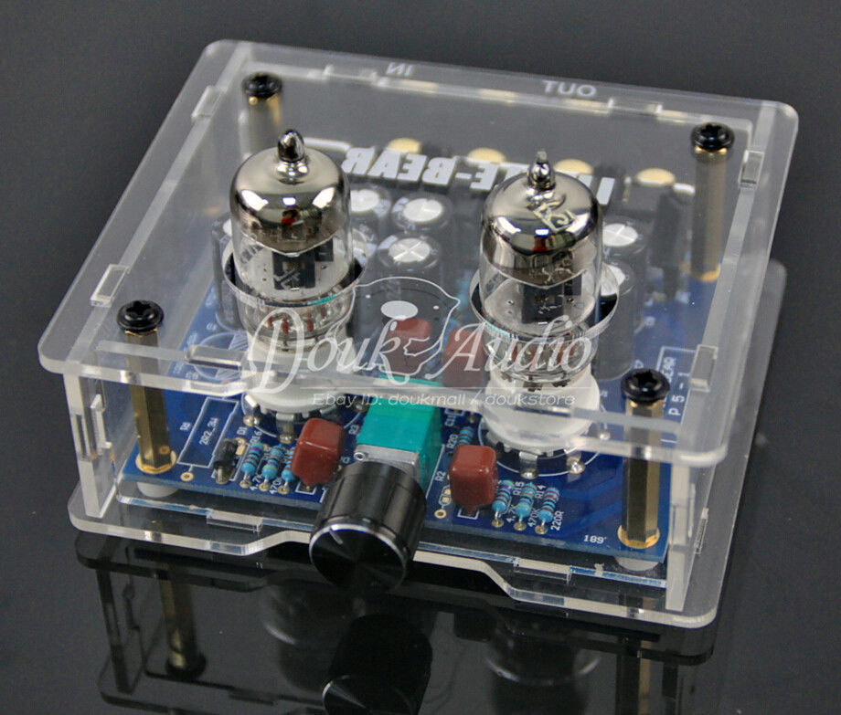 Little bear P5 Stereo Vacuum Tube Preamplifier Audio HiFi Buffer Pre-amp DIY douk audio 6h3n vacuum tube preamplifier hifi buffer pre amp matisse circuit new page 9