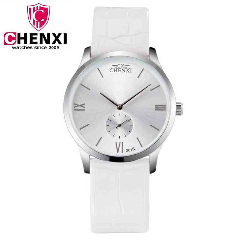 Top Brand ChenXi Women Casual Watch Genuine Leather Strap Unique Seconds dial WristWatch Male Dress Clock Sport Watch PENGNATATE chenxi business men watch luxury brand leather bracelet wristwatch life waterproof for sport top quality quartz clock pengnatate
