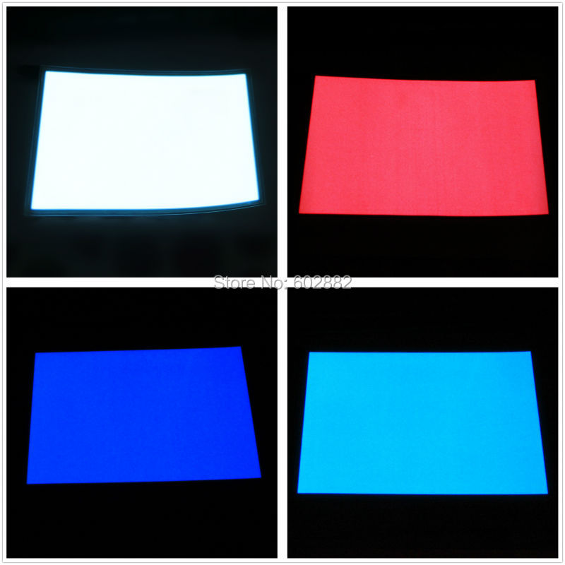 """(148x210 מ""""מ) A5 EL תאורה אחורית, EL פנל + 12 v גדול SG מהפך לערבב כדי זמין"""
