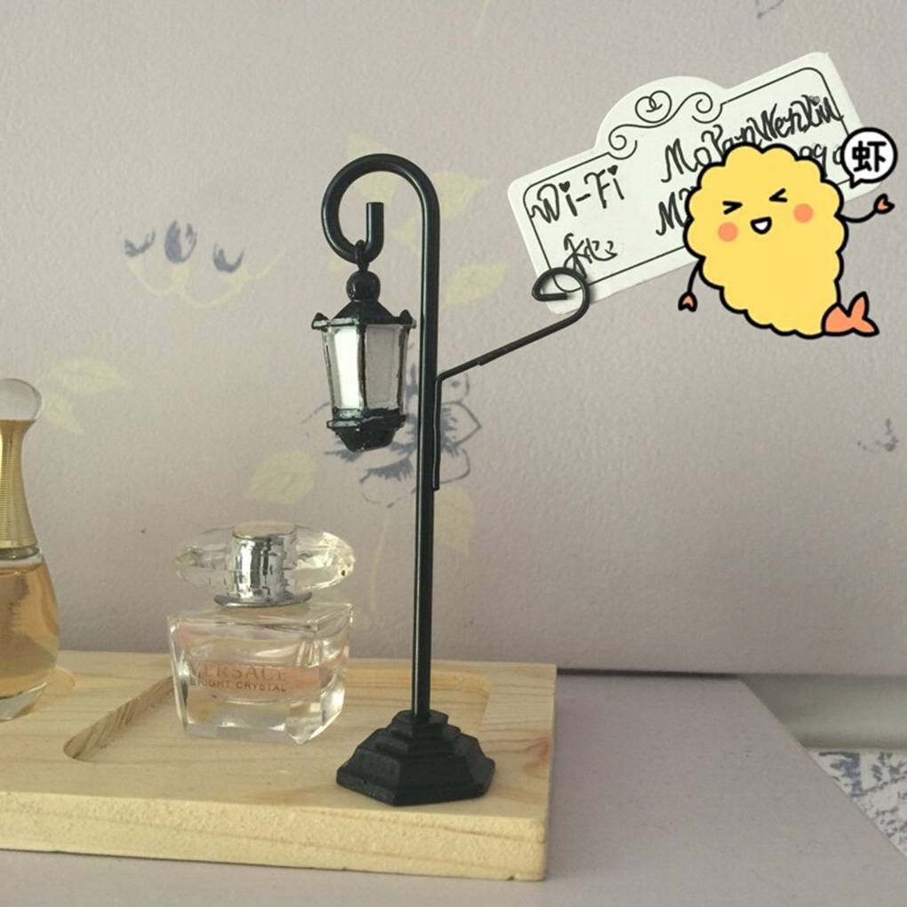 Responsible Street Lamp Card Holder Table Number Photo Memo Clip Wedding Table Decor Regular Tea Drinking Improves Your Health Clips Office Binding Supplies