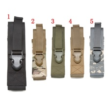 1000D Flashlight Molle Pouch Military Accessories Airsoft Hunting Tool System