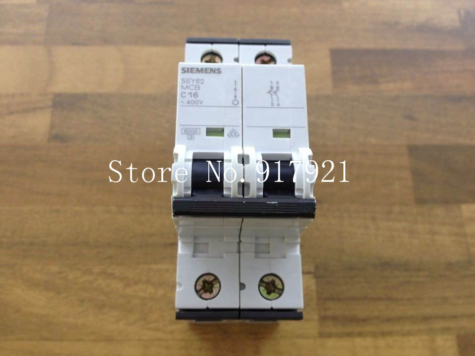 [ZOB] original  5SY62 MCB C16 2P16A black series genuine original air switch  --5pcs/lot original 73g 2 5