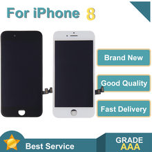 Grade AAA Quality LCD Display Digitizer For iPhone 8 Touch Screen Replacement For iPhone 8 No Dead Pixel+Tempered Glass+Tools 183mm 142mm on display tm084sdhg50 new touch screen8 4inch glass 183 142 for table commercial use wl 8