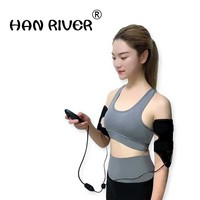 Body massage thin arms power plate female thin legs shape household massager with free shipping