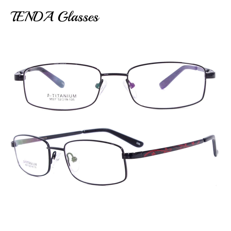 ≧Moda Gafas grados flexibles gafas de titanio óptico Marcos oculos ...
