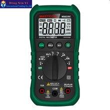 Multímetro Digital MASTECH MS8239C AC DC Tensión Corriente Capacitancia Frecuencia Temperatura Tester multimetro de rango Automático 3 3/4