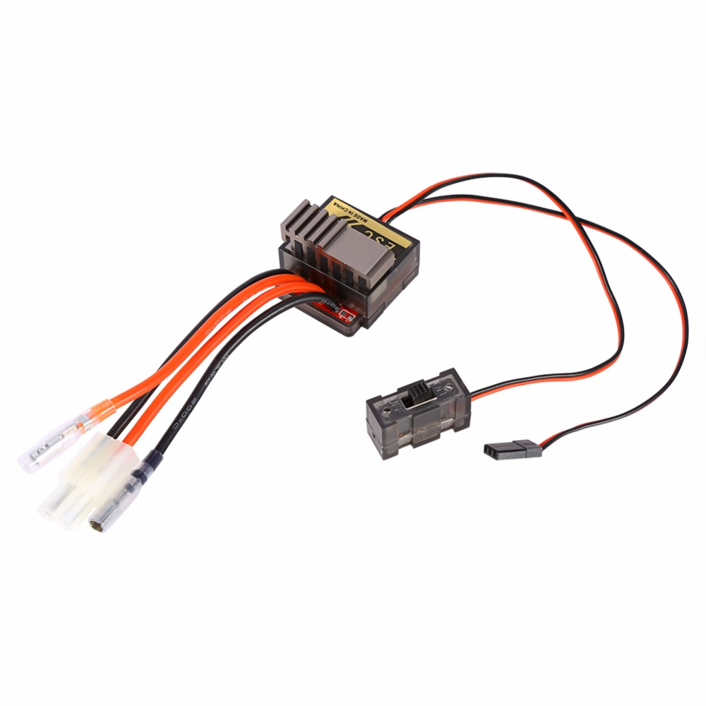 320A Brushed Motor Speed Controller ESC For RC Electric Car 4.8- 7.2 V Truck Buggy Ship & Boat R/C Hobby D2 ...